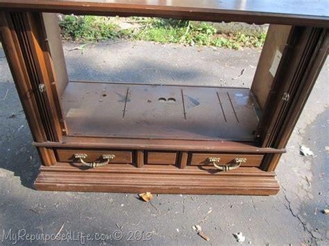 repurpose tv cabinet repurposed tv console my repurposed 174