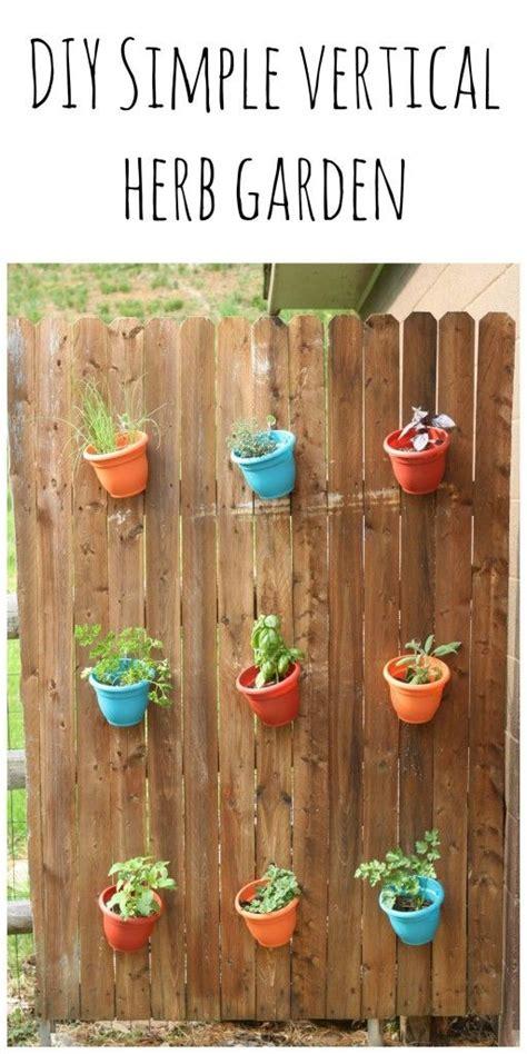 best 25 vertical herb gardens ideas on pallet