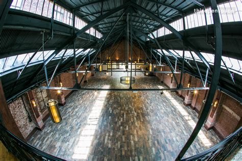 thisopenspace gorgeous industrial venue  skylights