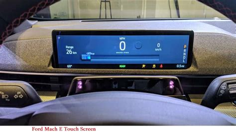 ford mach es vertical touch screen points