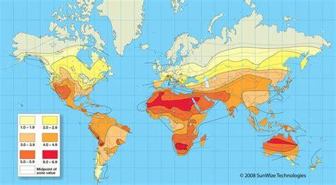 Инсоляция и солнечная энергетика
