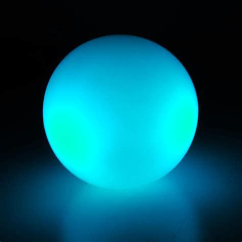 silicon led colour change light ball rgb