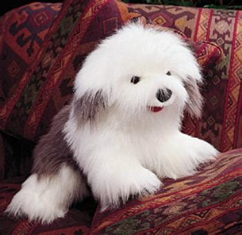 english sheepdog puppet  animal world