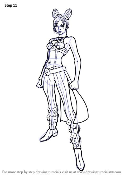 learn   draw jolyne cujoh  jojos bizarre
