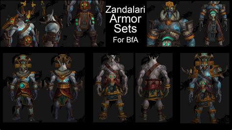 World Of Warcraft Warlock Wallpaper Zandalari Armor Sets For Blizz Artists To Make Sure We Gain As Players