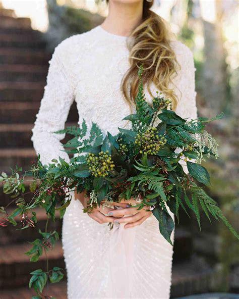 20 stunning wedding bouquets with ferns martha stewart weddings