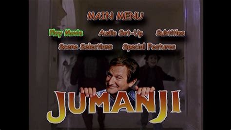 "Dvd Introduction From ""jumanji Collector's Series"" (2000) Youtube"