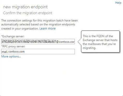 conectando con el servidor proxy de template realizar una migraci 243 n preconfigurada de correo