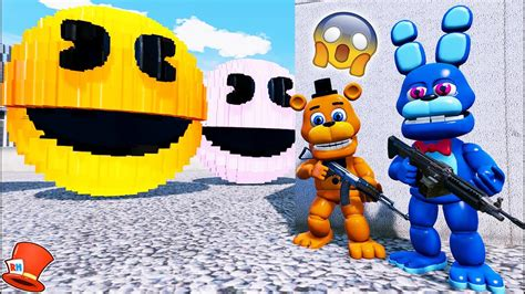 Adventure Animatronics Vs Giant Evil Pacmans! (gta 5 Mods