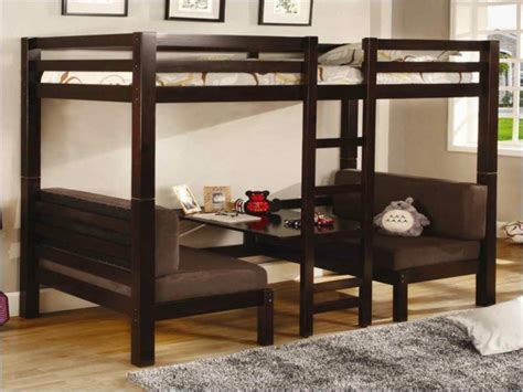 lit mezzanine avec canapé le lit mezzanine avec bureau est l 39 ameublement créatif