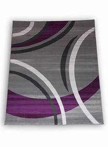 Tapis gris et violet idees de decoration interieure for Tapis violet et gris