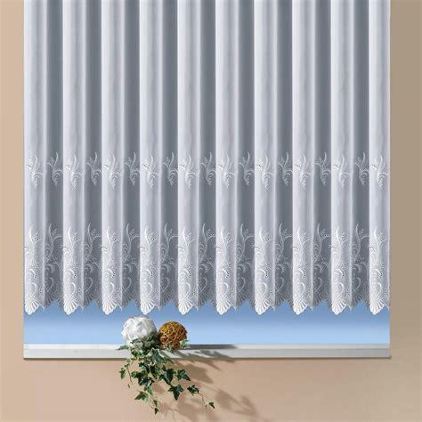 Gardine Halbes Fenster by Gardine 187 Potsdam 171 Weckbrodt Gardinen Kr 228 Uselband 1