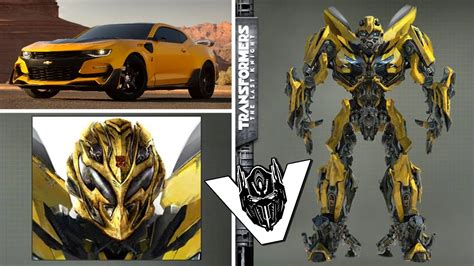 Transformers 5 Bumblebee Robot Design Revealed