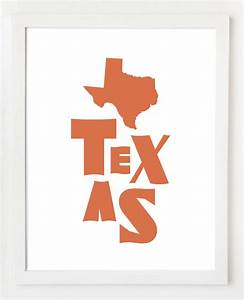 texas block letters wall art print texas home sweet With block letter wall art