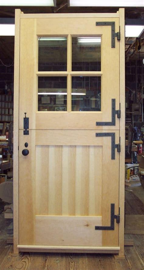 custom designed doors  log home