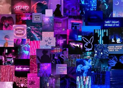 Collage Laptop Purple Wallpapers Asthetic Cave