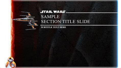 star wars powerpoint templates idealvistalistco