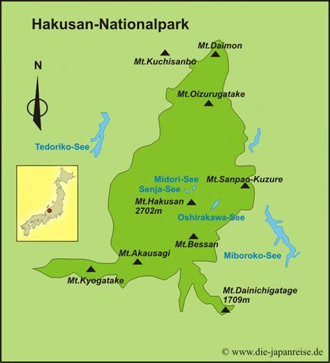 hakusan nationalpark japans nationalparks die japanreise
