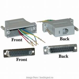 Rj45 To Db25 Wiring Diagram Creative Modular Adapter Db25
