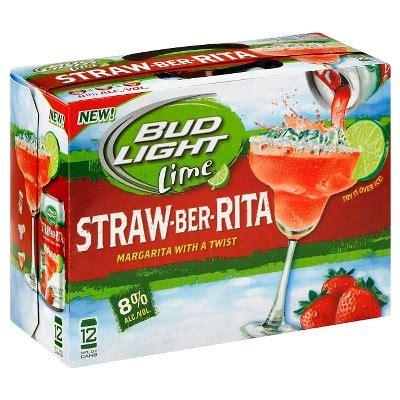 bud light straw ber bud light 174 lime straw ber 12pk 8oz cans target