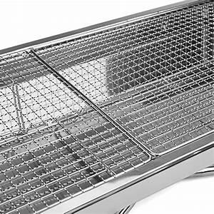 Grille De Barbecue Grande Taille : uten bbq barbecue charbon pliable en acier inoxydable ~ Melissatoandfro.com Idées de Décoration