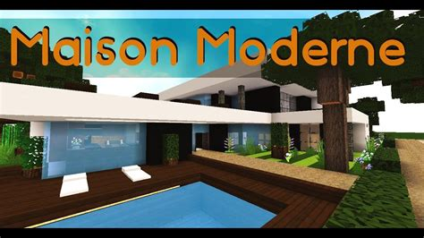 Minecraft  Maison Moderne Youtube