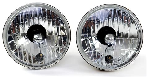Crystal Halogen Headlights Kit Lamp 5 3/4