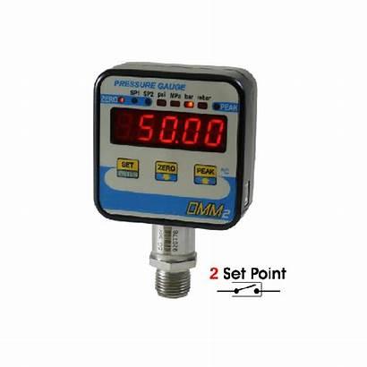 Manometer Digital Bar Relay Dmm2 2500 Output