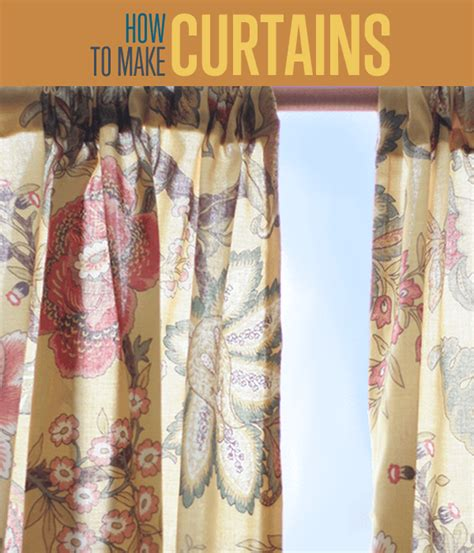 how to sew curtains how to make curtains diy projects craft ideas how to s