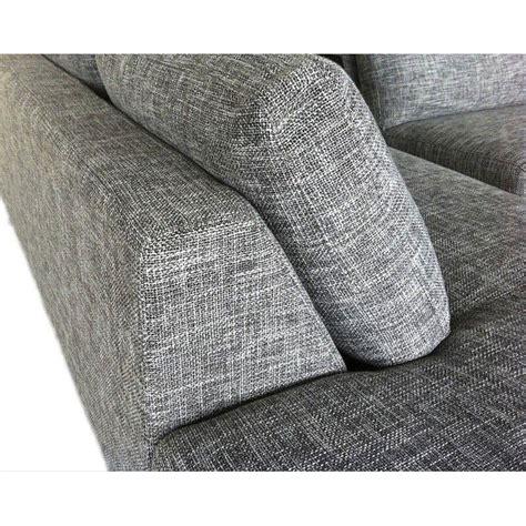 canapé passe partout canap d 39 angle tissu gris hailey