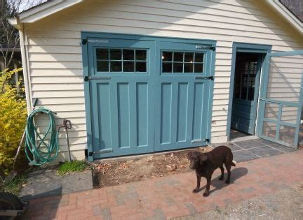 building carriage doors  scratch  garage journal board finally  pictures http