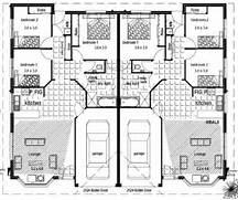 Dual Living House Plans Australia by Australian Duplex Floor Plans Blueprints
