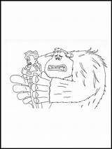 Smallfoot Coloring Pages Colouring Printable sketch template