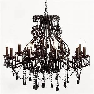 Sassy boo black french chandelier french bedroom company for Black bedroom chandelier