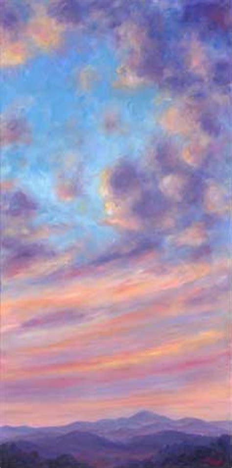 cloud color oil  canvas