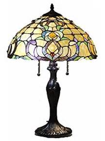 tiffany style stained glass table l quot dublin quot floor