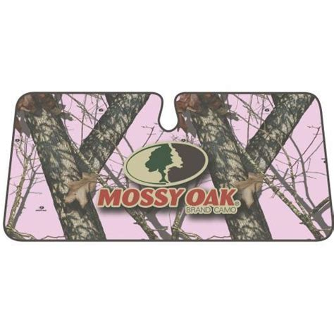 camo l shade mossy oak up pink camo one windshield shade