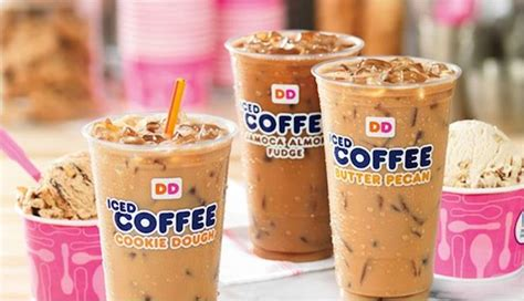 Dunkin' Donuts Debuts Cookie Dough Coffee Cafe Coffee Day In Cp Cakes Naraina Industrial Area Fully Automatic Brewer Uttam Nagar Hotels French Press With Fine Grounds Stumptown Everett