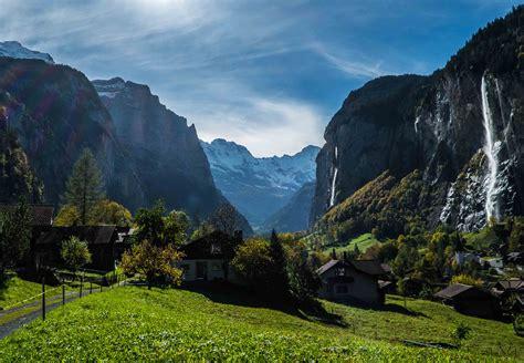 Incredible Staubbach Falls Switzerland World For Travel