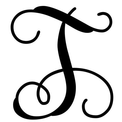 vine monogram letter  initial monogram stencil monogram letters font monogram door decor