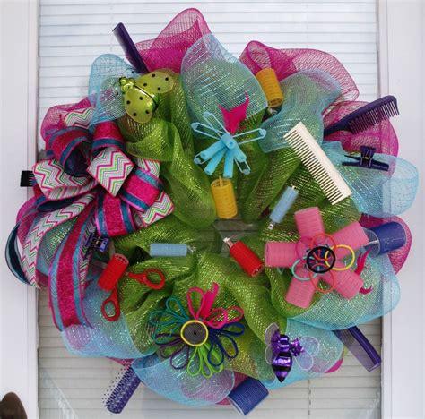 beauty salon wreath wreaths hair beauty salon