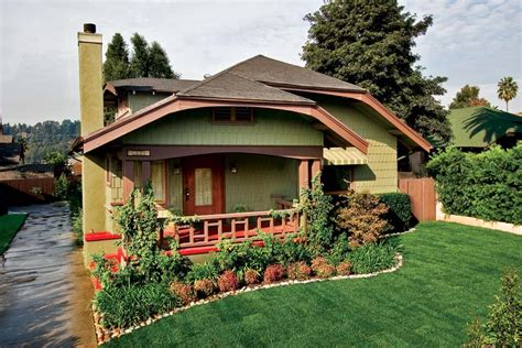 craftsman makeover for a california bungalow house