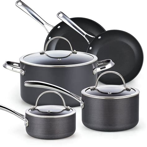 hard anodized cookware sets  home cooks
