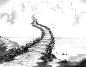 Heaven Stairway Drawings