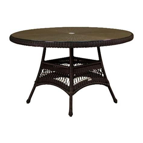 round folding table lowes shop tortuga outdoor lexington 48 in w x 48 in l round
