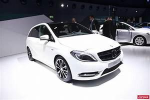 Nouvelle Mercedes Classe B : mercedes benz classe b une r ussite esth tique salon de francfort 2011 ~ Nature-et-papiers.com Idées de Décoration