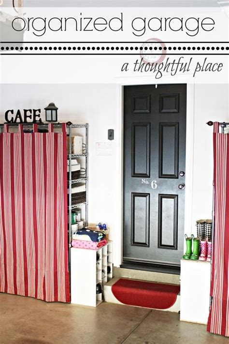 how to hide metal storage shelves and make them more