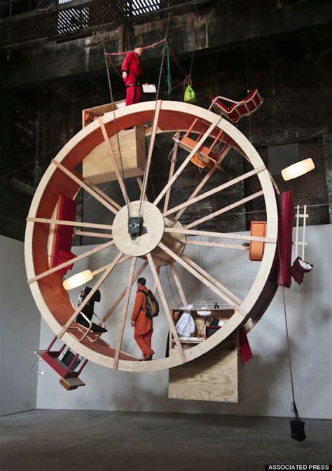 giant hamster wheel art hamster wheel art