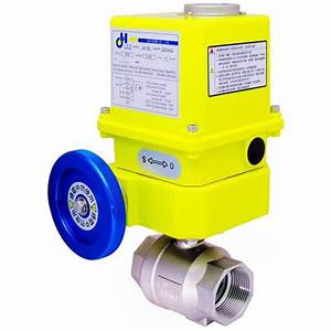 Rotary Automatic Electric Actuator    Electric Valve
