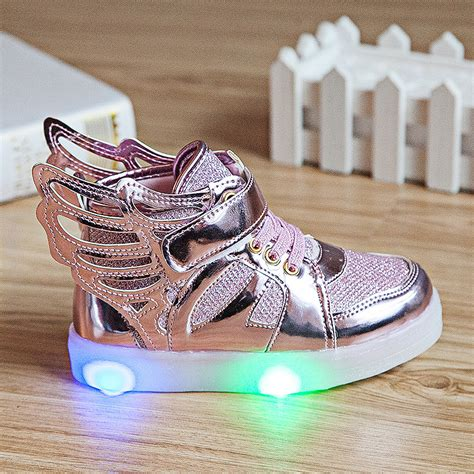 light up sneakers for youth new boys girls children led kids light up sports shoes